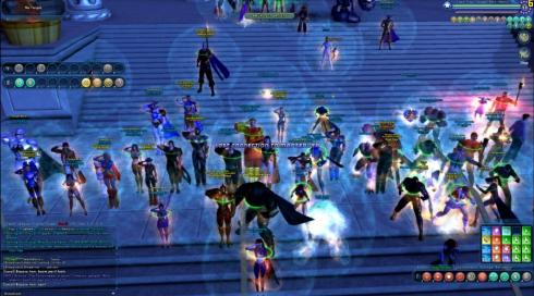 End of Days: heroes hold vigil at the Paragon City Hall